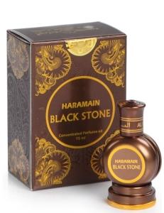 Арабские масляные духи Black Stone / Черный камень Al Haramain