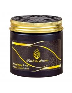 Скраб с медом Riad des Aromes с эфирным масло апельсина , Марокко
