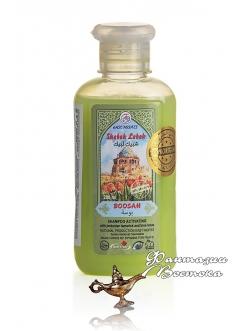 Активизирующий шампунь для волос с тамариском и голубым лотосом Boosah «Поцелуй» East Nights