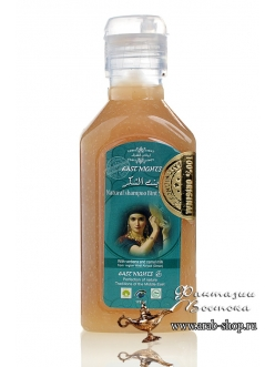 Лечебный шампунь с вербеной и верблюжьим молоком против перхоти BINT SHUKUR «Дочь вознаграждающего»