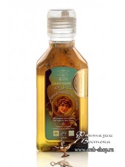 Лечебная оливково-лавровая эмульсия- шампунь с душицей и тутником Bint Al Shiran «Известная среди всех» East Nights